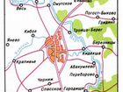карта Суздаль, схема Суздаль.