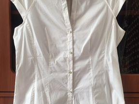 Блузки Белые 500 Рублей