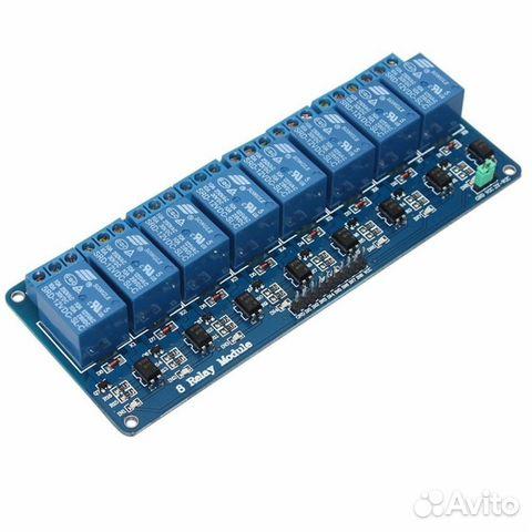 Arduino блок реле 8 каналов