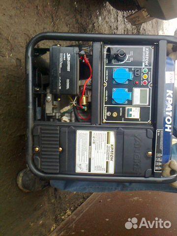 Генератор бензиновый инверторный gg 7200ie бензиновый