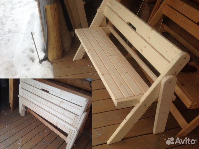 Откидная скамейка в баню своими руками