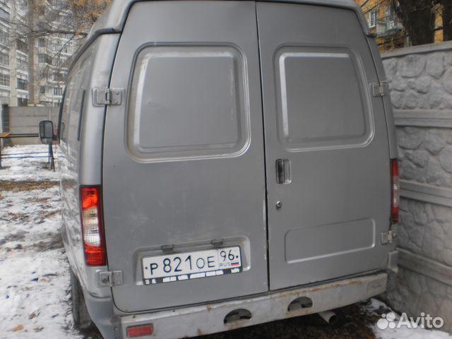 грузопассажирская газель 2705
