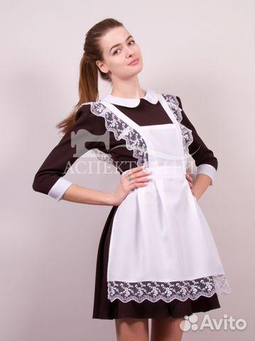 Школьные платья с фартуками