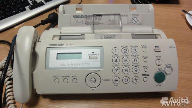 Факс, телефон, panasonic, панасоник, телефоны и кпк, москва