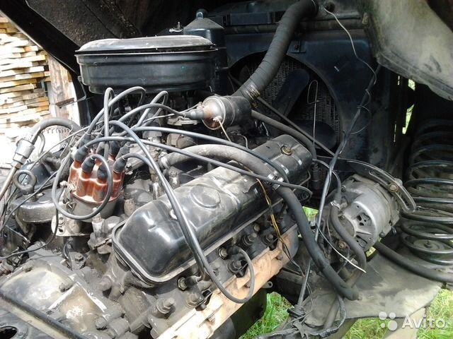 Ремонт двигателя газ 66 своими руками видео