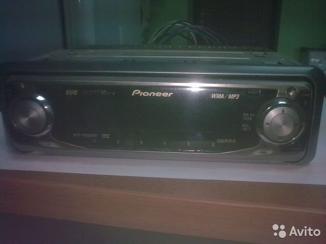 Автомагнитола pioneer DEH-P3600MP.