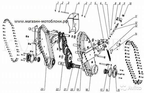 Ремонт редуктора мотоблока мб 1 своими руками 149