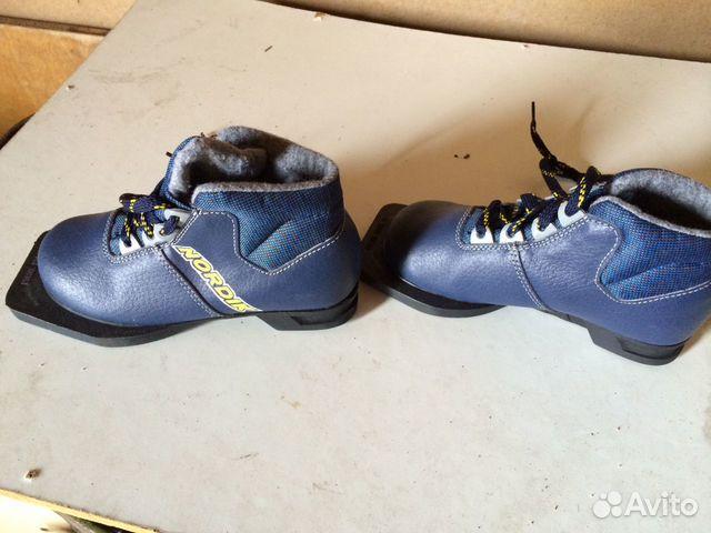 Объявление Лыжные ботинки детские (5 фотографий). Ботинки лыжн