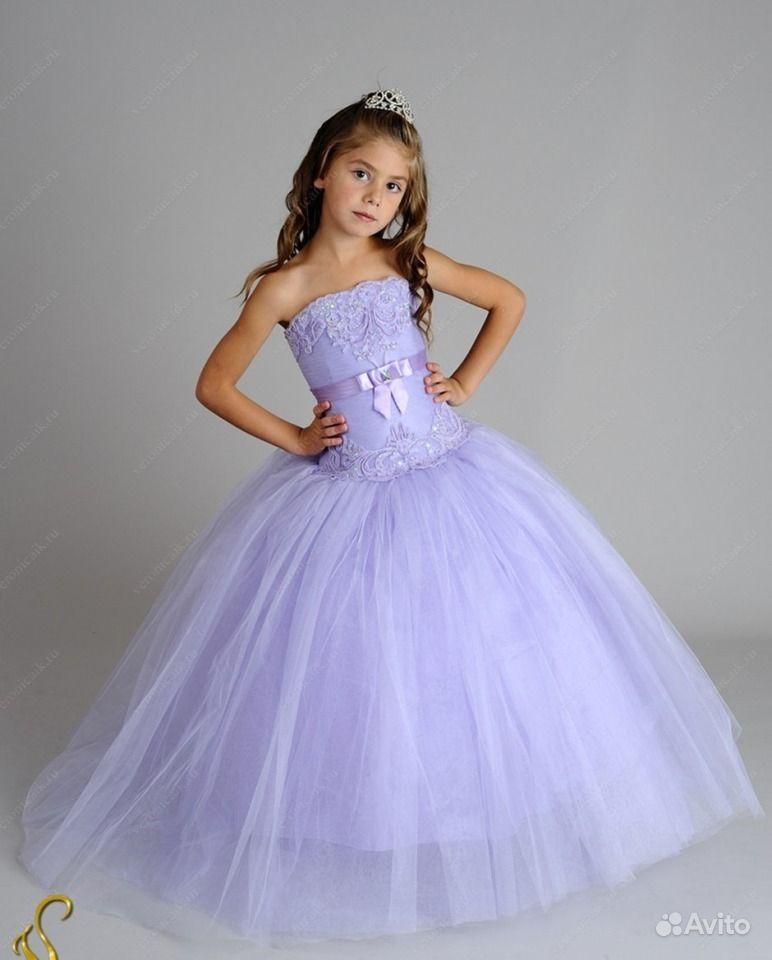 Детские праздничные платья для девочек - f6
