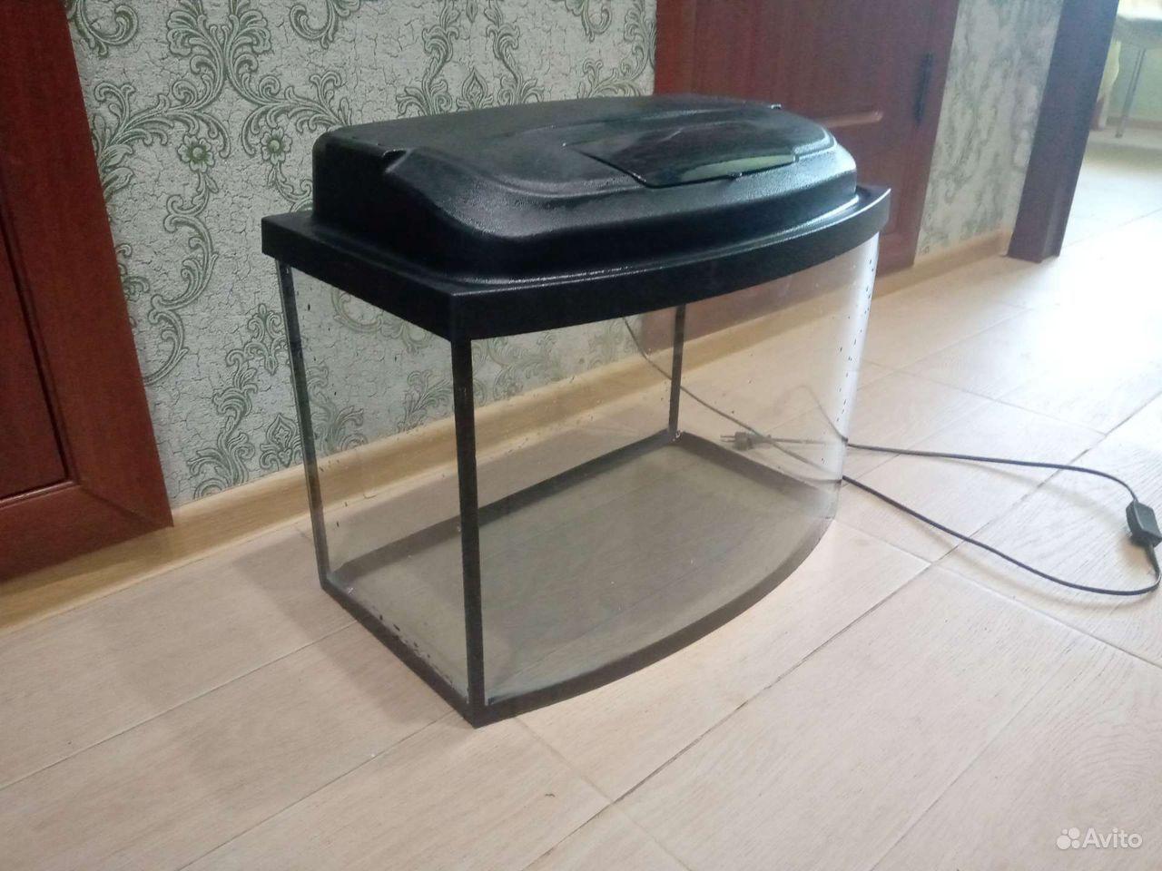 50 литров Аквариум с крышкой купить на Зозу.ру - фотография № 3