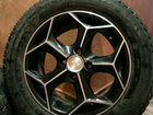 Продам литые диски с зимними шинами