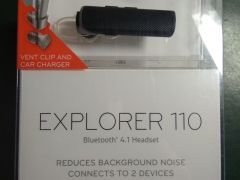Гарнитура bluetooth plantronics explorer 110/R