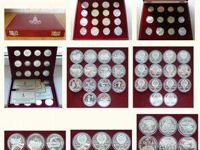 последнее олимпиада 80 монеты описание обзор ГДР