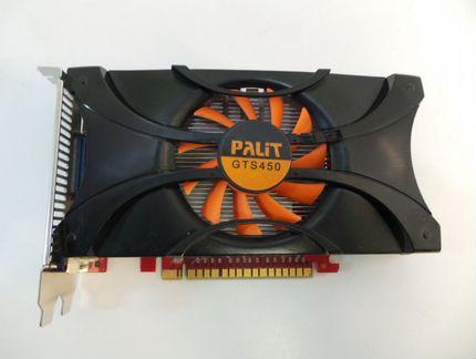 Видеокарта Palit GTS 450 объявление продам