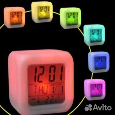 9abe80bc Электронные Настольные часы Будильник термометр | Festima.Ru ...