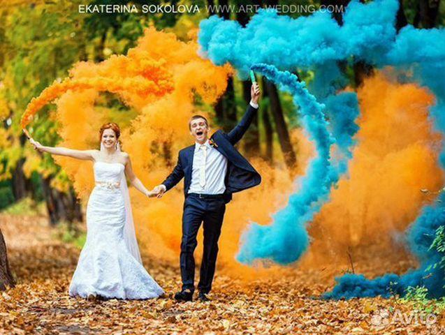 фото дым цветной