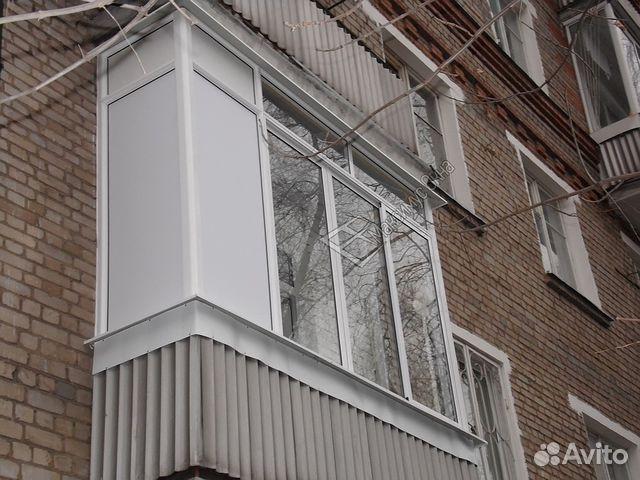 Ремонт балкона в хрущевке фото.