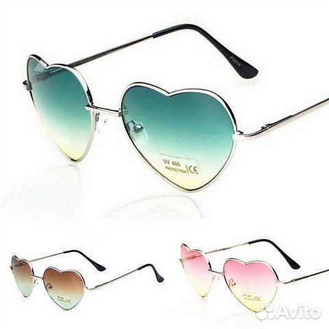 Солнцезащитные очки - сердечки металлические   Festima.Ru ... a8538850322