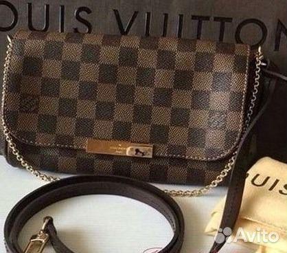 056ebd182e88 Louis Vuitton Favorite Damier LV Сумка Витон Лв купить в Москве на ...