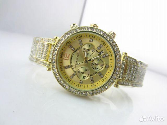 f28acb6aba97 Часы наручные женские со стразами Michael Kors MK купить в Санкт ...