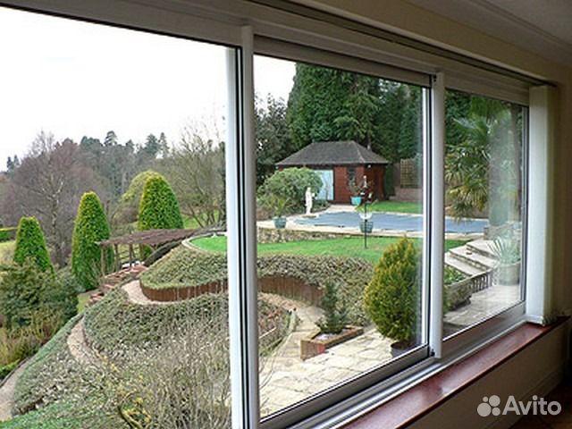 Раздвижные балконы окна двери - феодосия. пластиковые алюмин.