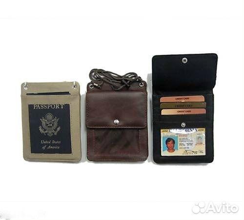 ca13a0722411 Кожаный кошелек портмоне для документов и телефона   Festima.Ru ...