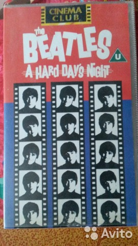 "The Beatles ""A Hard Day's Night"" фильм"