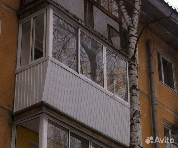 Остекление балкона 3 метра с выносом купить в иркутской обла.