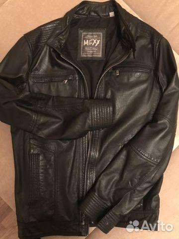 e143fbe6ef8 Мужская кожаная куртка mexx