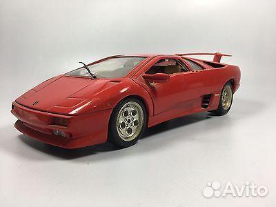 Bburago Lamborghini Diablo 1990 1 18 Kupit V Sverdlovskoj Oblasti