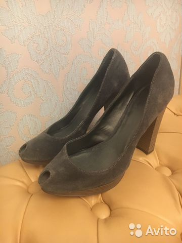 bb3b6b028 Туфли серые замшевые 39-40 | Festima.Ru - Мониторинг объявлений