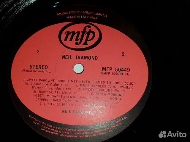 Виниловая пластинка Niel Diamond 89185565096 купить 4