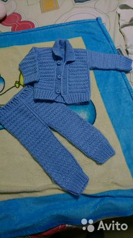 детский вязаный костюм Festimaru мониторинг объявлений