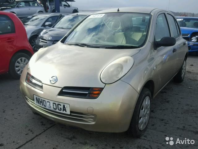 nissan march запчасти