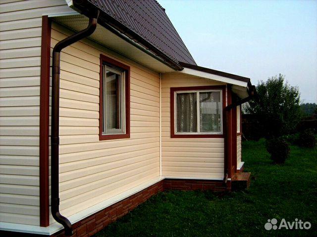 Отделка фасадов(Сайдинг,блок хаус,имитация бруса) купить 7