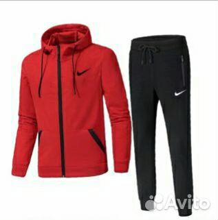Спортивные костюмы Nike красно черные купить в Москве на Avito ... 3f25070704d82
