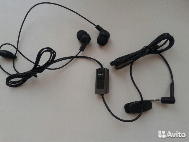 новые наушники для телефона Nokia и провод Usb купить в москве на