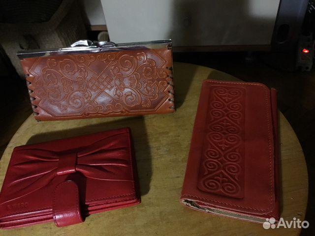 f6b089dae419 Кошельки кожаные 2 производство Монголии 1 кошелёк | Festima.Ru ...