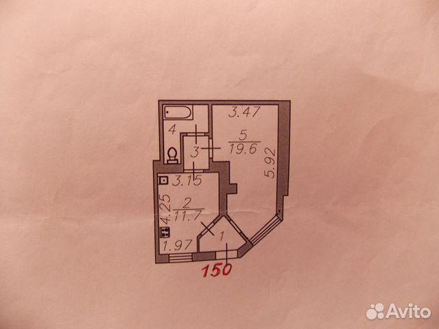 Продается однокомнатная квартира за 1 400 000 рублей. г Астрахань, ул Парковая, д 10.