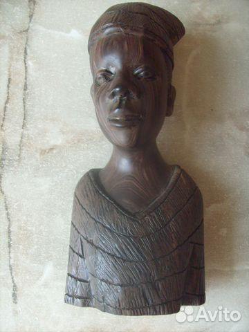 Две статуэтки. Черное дерево. Африка 70 - е года 89087998445 купить 6