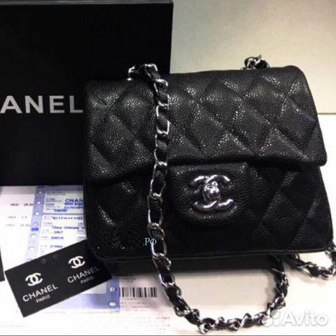 08d6b0811f23 Сумка Chanel 2.55 Flap Mini 15 см Икра Шанель Клат | Festima.Ru ...