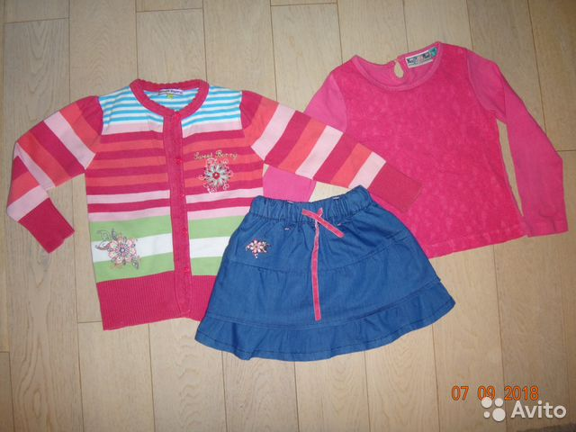 Одежда для девочки б у р.104-110   Festima.Ru - Мониторинг объявлений 87a37e86433