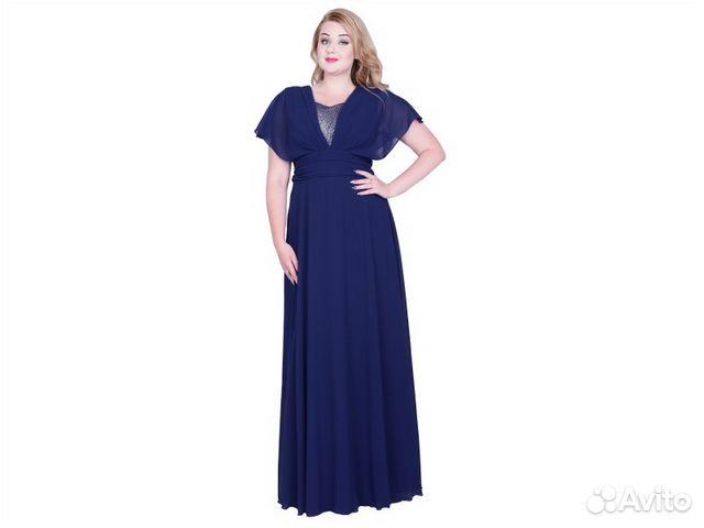 0706c669949 Красивое длинное вечернее платье больших размеров купить в Москве на ...