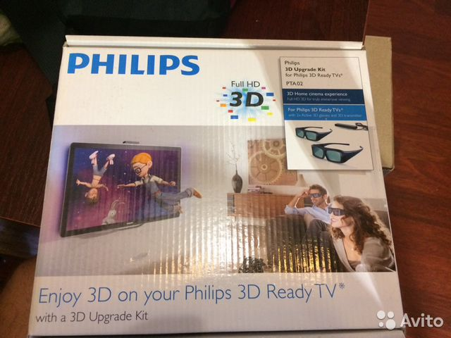 Комплект очки для 3D TV Philips