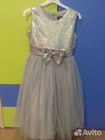 Новогоднее праздничное платье для девочки 89245055073 купить 2