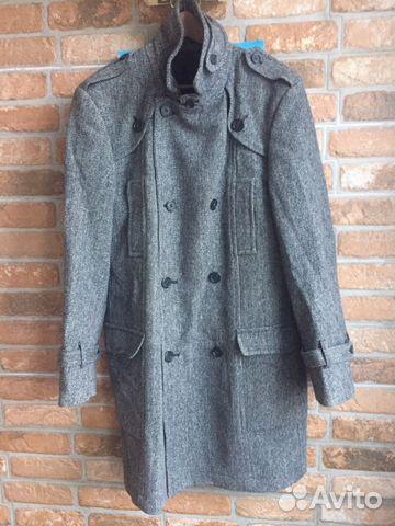 e023cf5bb82 Пальто демисезонное 52 размер купить в Москве на Avito — Объявления ...