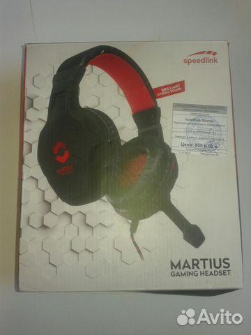 наушники Speedlink Martus с микрофоном игровые купить в