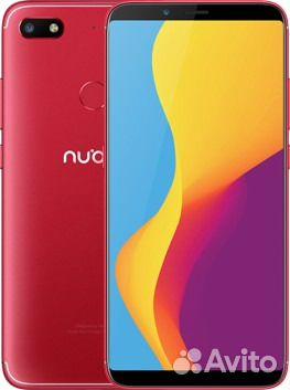 Новый ZTE Nubia V18 Red 4gb / 64 gb 6,01