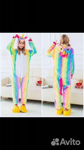 Пижама кигуруми единороги  c6f35ba93b8fd
