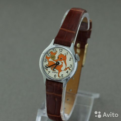 8e9a44d2 Заря детские наручные механические часы СССР в купить в Москве на ...